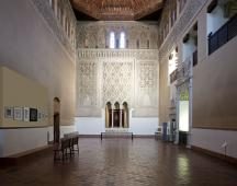 instalación en la Sinagoga del Tránsito
